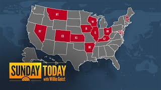 13 States Set Single-Day COVID-19 Records | Sunday