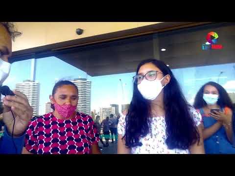Vacinação Contra o Covid 19, No Centro de Eventos 30/08/2021 TV WM.