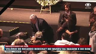Presidente Da Band Cumprimenta Família De Boechat