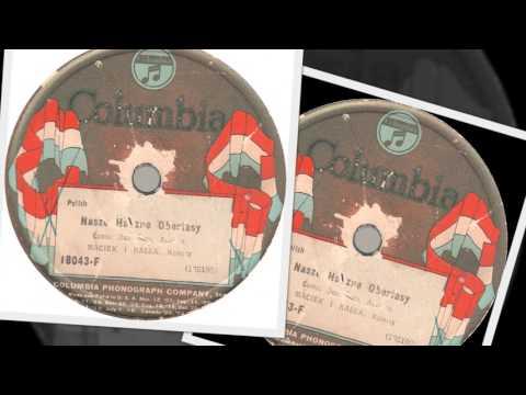 Polish 78rpm recordings, 1924-25. Columbia 18043-F. Nasze Wesołe Krakowiaki