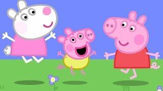 Свинка Пеппа на русском все серии подряд | Забава с ребенком Александром! | Мультики