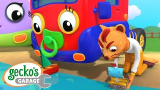 Baby Toy Boat Fun|Gecko's Garage|Funny Cartoon For Kids|Learning Videos For Toddlers