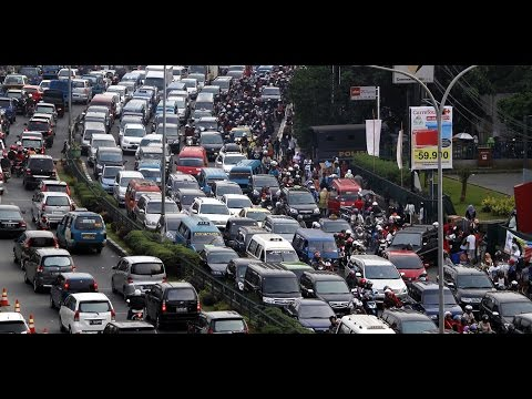 Resmi, Jakarta Jadi Kota Termacet Ketiga Di Dunia
