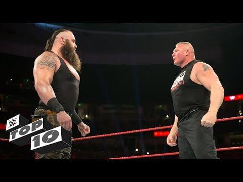 Superstars looking invincible: WWE Top 10, Jan. 1, 2018 (видео)