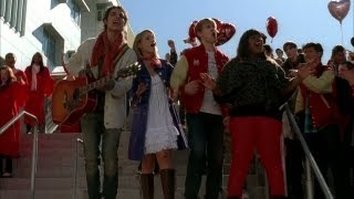 GLEE - Stereo Hearts (Full Performance) (Official Music Video)