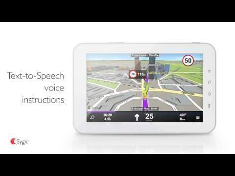 Video of Sygic Truck GPS Navigation