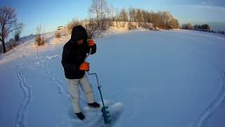 Зимняя рыбалка на протоках оби