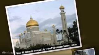 preview picture of video 'Omar Ali Saifuddin Mosque - Bandar Seri Begawan, Brunei'