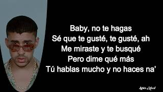 Jennifer Lopez, Bad Bunny   Te Guste LETRA