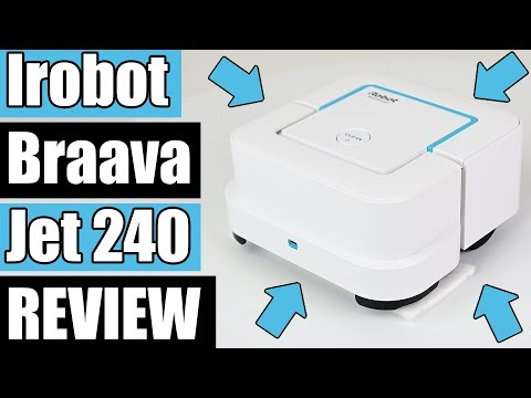 iRobot Braava jet 240 Superior Robot Mop REVIEW! - SIMPLE BUT EFFECTIVE!