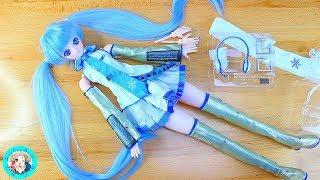 So...this is a FAKE Dollfie Dream Snow Miku Doll ♣♣♣ I DarlingDolls