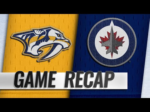 Connor, Hellebuyck help Jets clinch with 5-0 win
