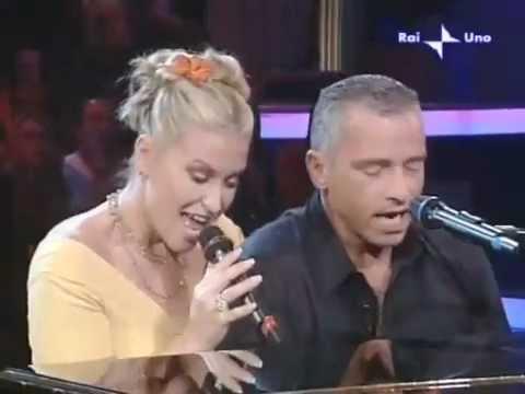 Anastacia and Eros Ramazzotti-I Belong To You (Il ritmo della passione) Live at Domenica 2006