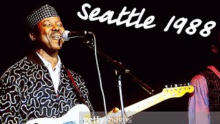 King Sunny Ade Classic Live Concert   Full Live Concert in Seattle(United States) 1988   Live Juju
