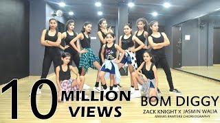Bom Diggy | Zack Knight | Jasmin Walia | Manas Ramteke Choreography | SPARTANZzz Dance Academy