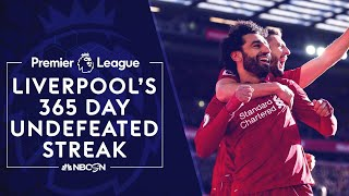Relive Liverpool's incredible 365-day undefeated streak   Premier League   NBC Sports