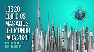 The 20 tallest buildings in the world by 2020