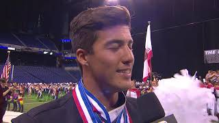 Blue Devils drum major on 18th World Championship win