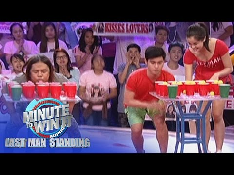 Puddle Jumper | Minute To Win It - Last Duo Standing