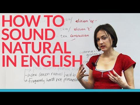 Sound like a native speaker: the BEST pronunciation advice