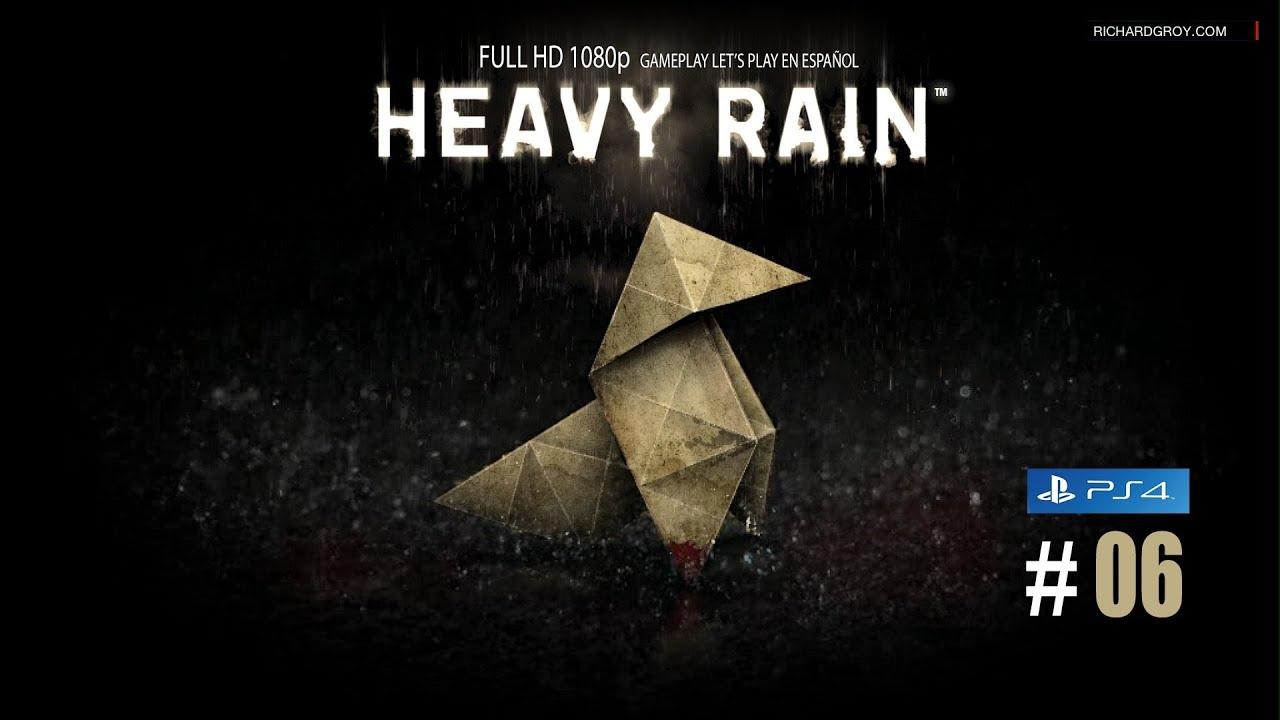 #06 HEAVY RAIN REMASTERED (HORRIBLE ENDING) – PS4 – Español ★Gameplay Full En Español