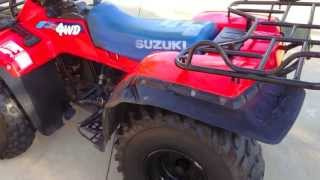 1991 SUZUKI 250 QUADRUNNER 4x4 (I have a question)