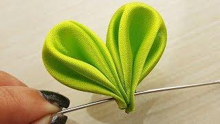 DIY Amazing Cool Ideas,DIY Satin Fabric Flower Tutorial