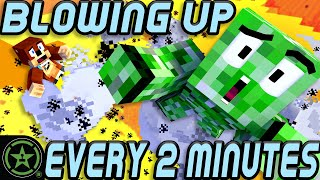 Minecraft BUT Every 2 Minutes we Explode!
