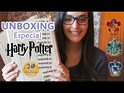 ? UNBOXING especial HARRY POTTER  -  20 Anos! l Saraiva