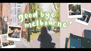 Goodbye, Melbourne!