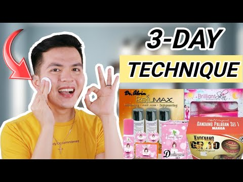 LEARN THE 3-DAY TECHNIQUE SA PAG GAMIT NG REJUVENATING SET!