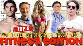 Top 5 Worst Offenders of Science on Social Media - Fitness industry edition