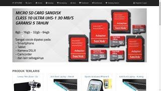 Video Perancangan Web E-Commerce Responsive Berbasis PHP, Mysqli, Bootstrap