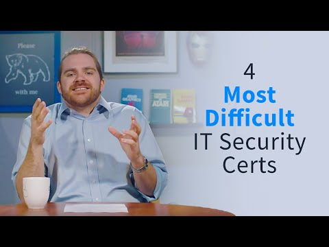4 Most Difficult IT Security Certifications - YouTube
