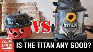 TITAN vs Henry - DIY Vacuum Review