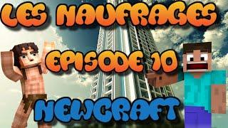 MINECRAFT MACHINIMA : LES NAUFRAGES ! NewCraft ! | Episode 10 !