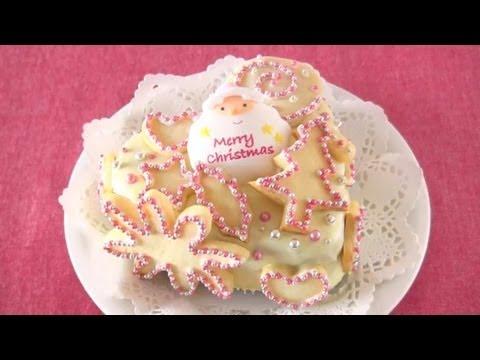 Pink Jewel Christmas Cake ピンクジュエルクリスマスケーキ – OCHIKERON – CREATE EAT HAPPY