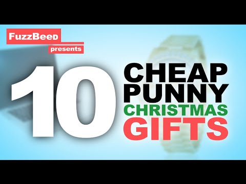 10 Cheap Punny Christmas Gifts!