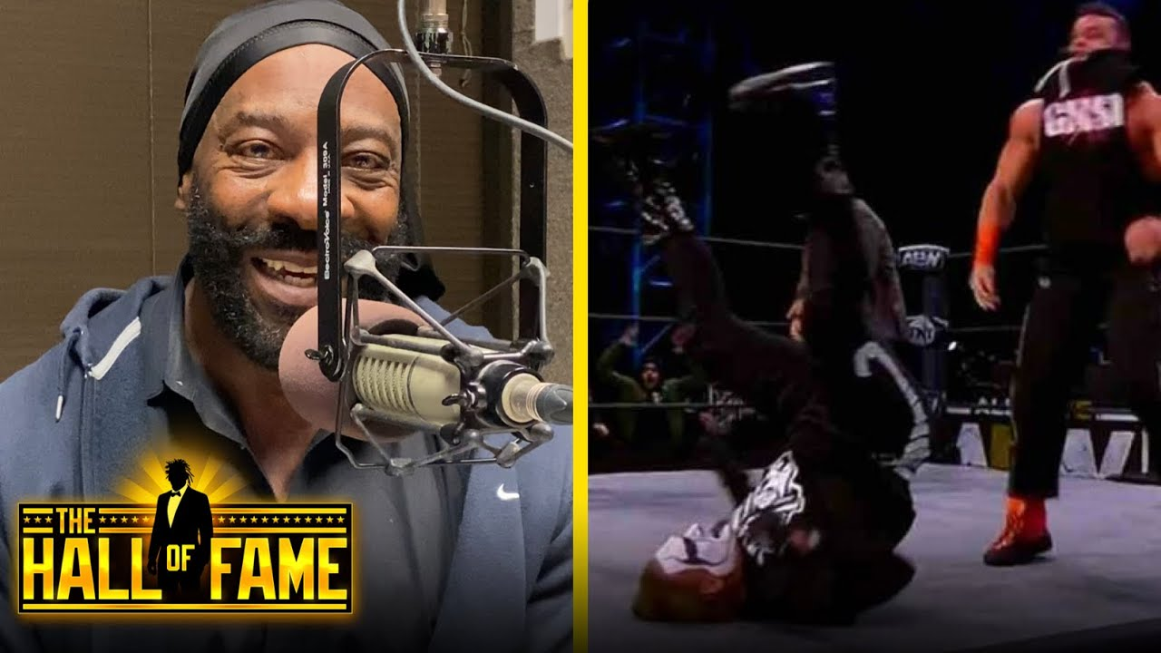 Booker T Talks Sting Taking Big Powerbomb From Brian Cage