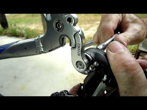 Mountain Bike Derailleur Hanger Replacement
