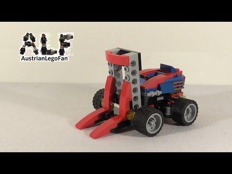 Vidéo LEGO Creator 31030 : Le kart rouge