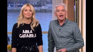 Holly Willoughby red faced as Phillip Schofield says she smells FISHY