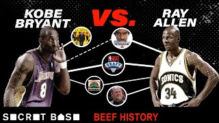 Kobe Bryant's beef with Ray Allen was short, but haunted Kobe for years