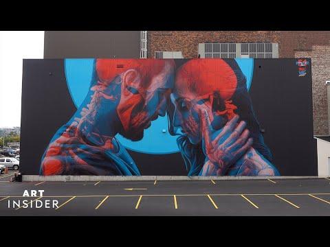 Hidden Paintings Inside Street Art