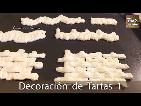 Cómo decorar Tartas con Nata montada extra firme | Técnicas de decoración | Tonio Cocina 192