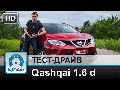 Nissan  Qashqai Паркетник класса J - тест-драйв 2