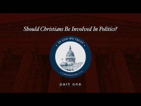 Pastor Jack & Tony Perkins: Should Christians Be Involved In Politics?