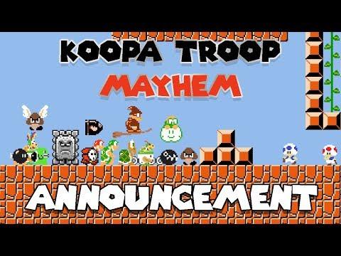 Koopa Troop Kingdom Mayhem TEAM COLLAB - Announcement