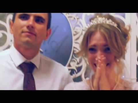 ОЧЕНЬ КРУТО Поздравила подругу в день свадьбы | РЕП поздравление для невесты