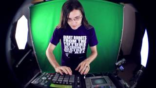 Live Dubstep Electro MPC/Kaoss Pad/CDJ Remix: Skyline